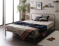 デザインスチールすのこベッド Dualto デュアルト パイプベッド