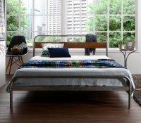 デザインスチールすのこベッド Diperess ディペレス 脚付きベッド レッグベッド