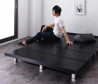 頑丈デザインすのこベッド T-BOARD ティーボード 布団が使えるベッド
