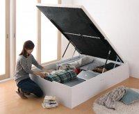 お客様組立 簡単組立・らくらく搬入_ガス圧式大容量跳ね上げベッド Mysel マイセル 組立設置ベッド