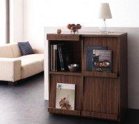 シンプルモダンリビングシリーズ nux ヌクス フラップチェスト 家具