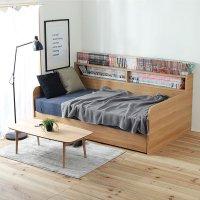 デイベッド すのこベッド 収納 コンセント付 収納ベッド