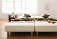 ベーシックボンネルコイルマットレス【ベッド】 キングサイズ クイーンサイズ 大きいベッド