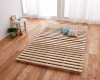 通気孔付きスタンド式すのこベッド【AIR PLUS】エアープラス すのこベッド