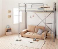 のびのびロフトベッド【Scelta-high】シェルタハイ ショートベッド 短いベッド