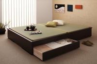モダンデザイン畳収納ベッド【花梨】Karin 和風・畳ベッド