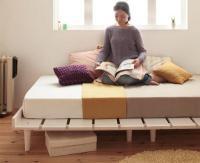 北欧デザインベッド【Noora】ノーラ 組立設置サービスあり