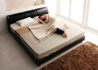 モダンデザインベッド 【Klein Wal】クラインヴァール キングサイズ クイーンサイズ 大きいベッド