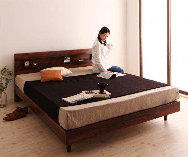 棚・コンセント・デザインすのこベッド 【Kleinod】クライノート