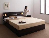 モダンデザイン・大型サイズ収納ベッド【Aisance】エザンス 高級ベッド