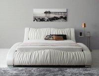 モダンデザイン・高級レザー・デザイナーズベッド【Fortuna】フォルトゥナ キングサイズ クイーンサイズ 大きいベッド