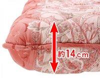 抗菌防臭防ダニ四層式ボリューム敷き布団 ボリューム敷布団