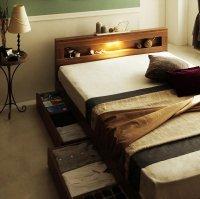 LEDライト・コンセント・収納ベッド【Ultimus】ウルティムス 組立設置サービスあり