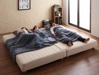日本製ポケットコイルマットレスベッド【MORE】モア マットレスベッド
