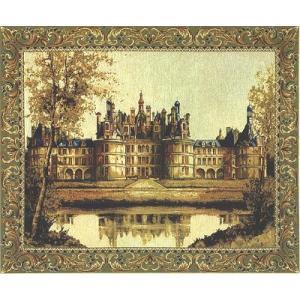 タペストリー「Chambord Castle」