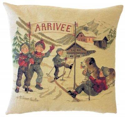 クッション 「Winter Joy - Arrivée」
