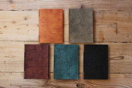 革のノート・手帳