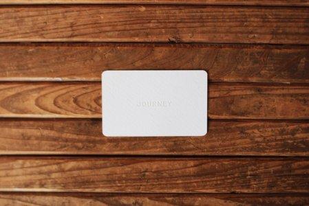 お店で使えるJOURNEYギフトカード