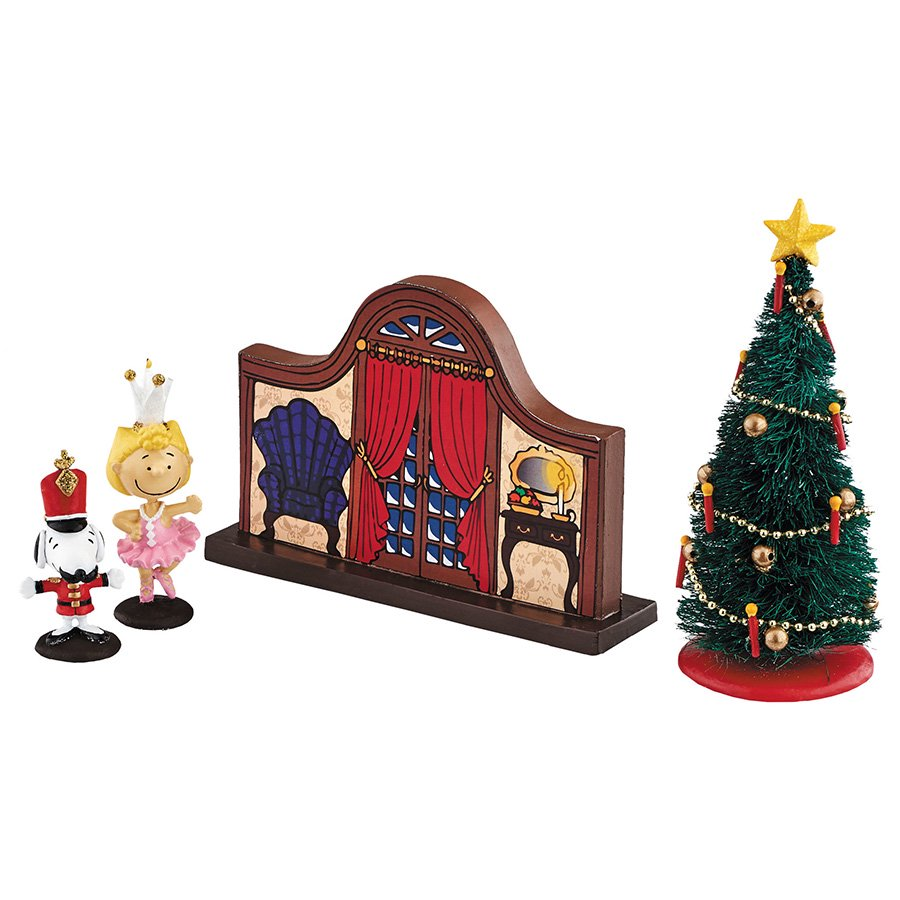 【Department 56】フィギュア スヌーピー -Peanuts Nutcracker Set-
