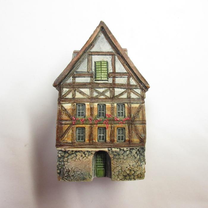 ミニチュアハウス【アルザス】GAULT HOUSE-028-740,フランス,ゴーハウス,アートオブジェ,ゴーハウス