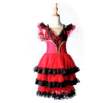 バレエ衣装【販売】キトリ,スペインの踊り, ロマンティックチュチュ,ヴァリエーション衣装