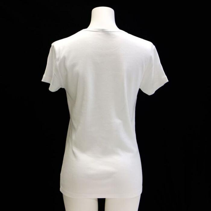 <img class='new_mark_img1' src='https://img.shop-pro.jp/img/new/icons1.gif' style='border:none;display:inline;margin:0px;padding:0px;width:auto;' />バレエ Tシャツ バレリーナ白色 ウォームアップウエア バレエ用品