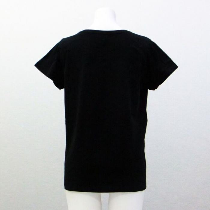<img class='new_mark_img1' src='https://img.shop-pro.jp/img/new/icons1.gif' style='border:none;display:inline;margin:0px;padding:0px;width:auto;' />バレエ Tシャツ キトリチュチュ黒 ウォームアップウエア バレエ用品