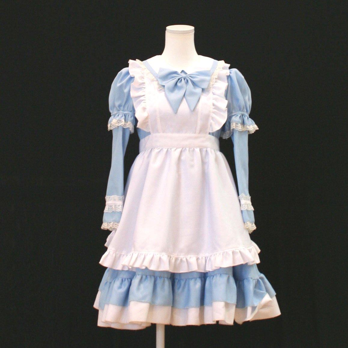 ドレス【レンタル】長袖アリスコスチュ...