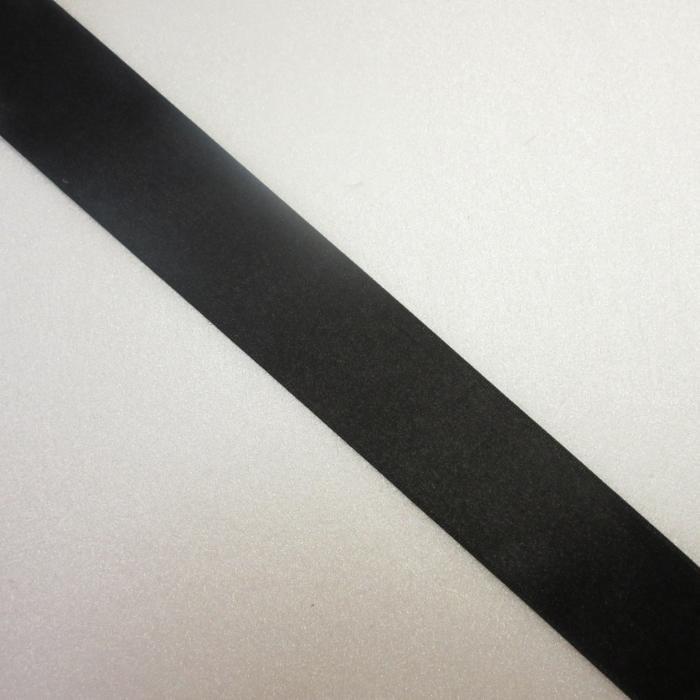 ラッピング リボン ミュージックサテン 037 黒色 ギフト用 約幅40mm×長さ1m切売