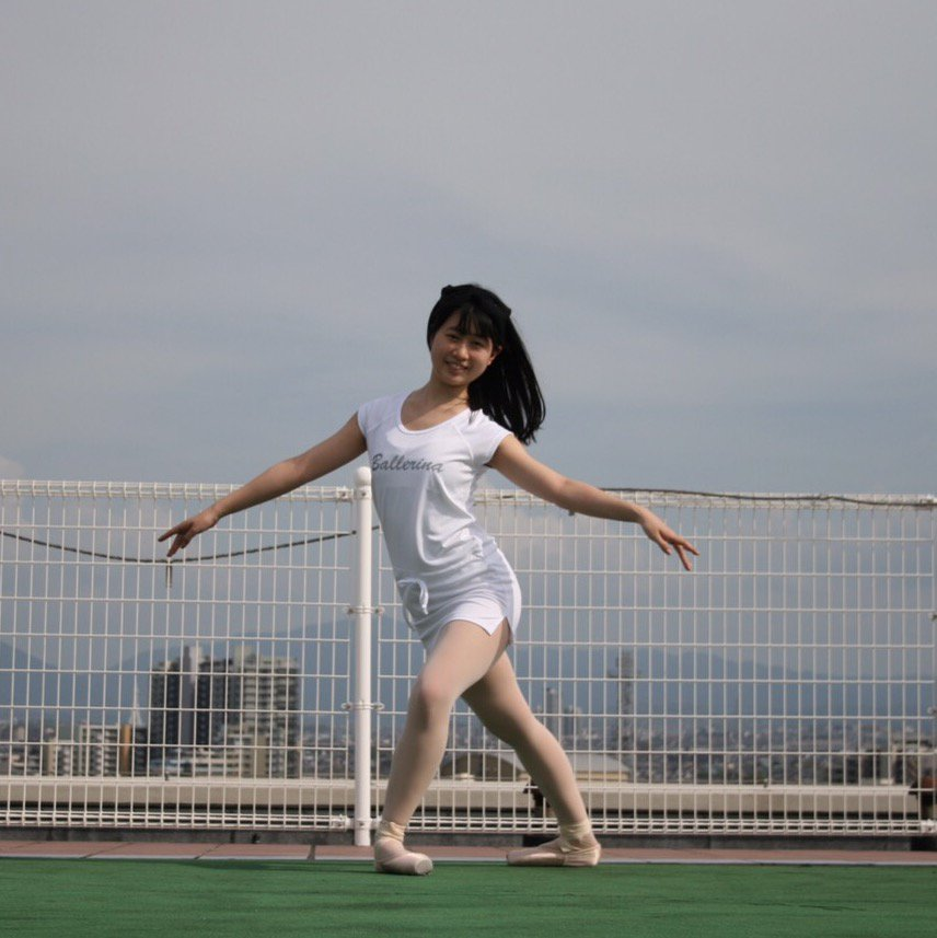 Ballerina スポーツワンピース白 Mサイ...