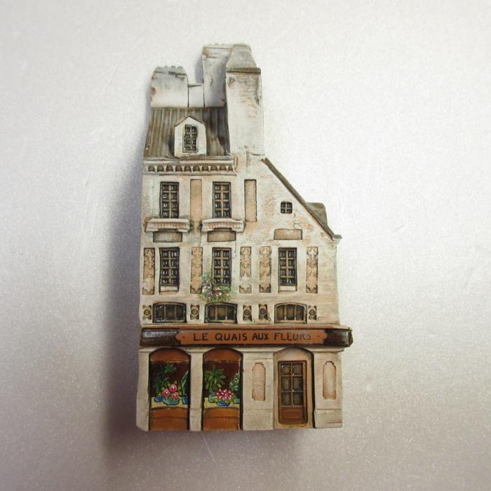 ミニチュアハウス【フランス・パリ 】GAULT HOUSE-066-P4,PARIS,ゴーハウス,アートオブジェ,ゴーハウス