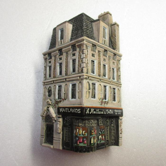 ミニチュアハウス【ロンドン 】GAULT HOUSE-965-P4,LONDON,アートオブジェ,ゴーハウス