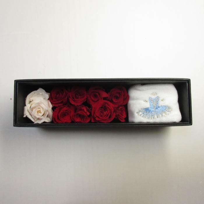 バレエフラワーBOX 001,フロリナ王女,ヴァリエーション,バレエ発表会プレゼント