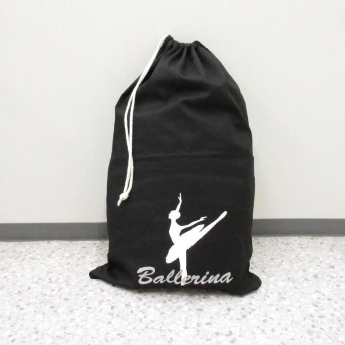 バレエ衣装巾着バッグ,ブラック色,バレ...
