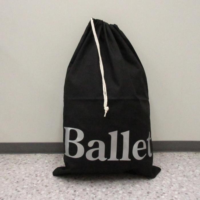 バレエ衣装巾着バッグ,ブラック色,BALLE...