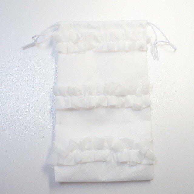トーシューズ袋 巾着袋 不織布002,バレ...