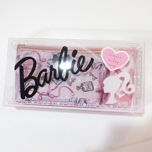 <img class='new_mark_img1' src='https://img.shop-pro.jp/img/new/icons1.gif' style='border:none;display:inline;margin:0px;padding:0px;width:auto;' />【Barbie 】コスメポーチセットPK,バービー グッズ
