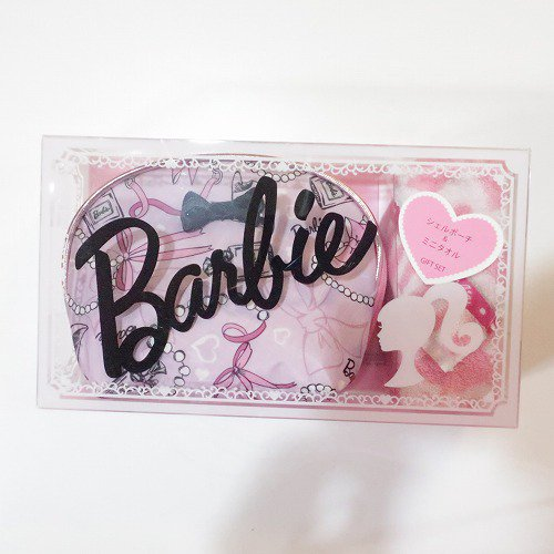 <img class='new_mark_img1' src='https://img.shop-pro.jp/img/new/icons1.gif' style='border:none;display:inline;margin:0px;padding:0px;width:auto;' />【Barbie 】シェルポーチセットPK,バービー グッズ