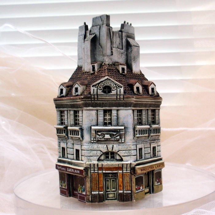 ミニチュアハウス【フランス・パリ 】GAULT HOUSE-003-PARISアートオブジェゴーハウス