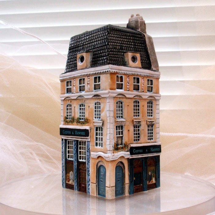 ミニチュアハウス【ロンドン 】GAULT HOUSE-004-LONDONアートオブジェゴーハウス
