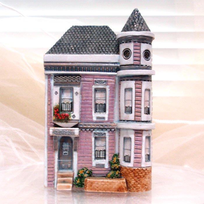 ミニチュアハウス【アメリカ・サンフランシスコ 】GAULT HOUSE-007-San Franciscoアートオブジェゴーハウス