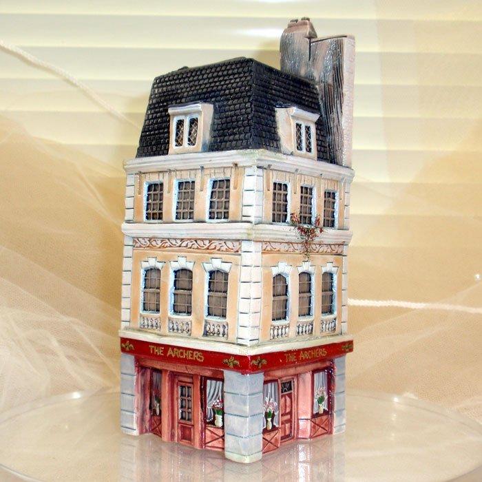 ミニチュアハウス【ロンドン 】GAULT HOUSE-008-LONDONアートオブジェゴーハウス