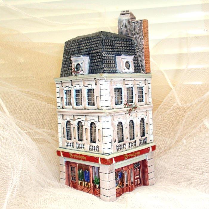 ミニチュアハウス【ロンドン 】GAULT HOUSE-009-LONDONアートオブジェゴーハウス