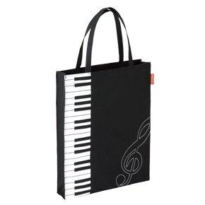 ピアノ レッスンバック,縦型トート,鍵盤ト音記号,お稽古バック,音楽,子供用かばん