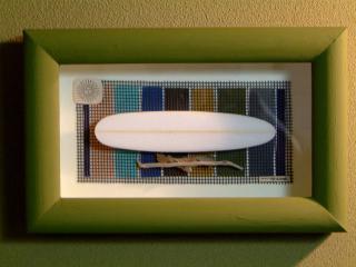 color frame long board