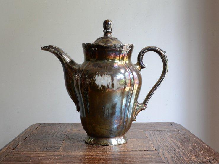 BAVARIA シルバー陶器 ポット