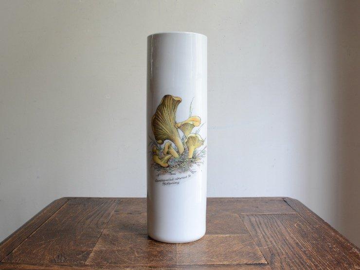 BAVARIA キノコ柄 陶器フラワーベース A