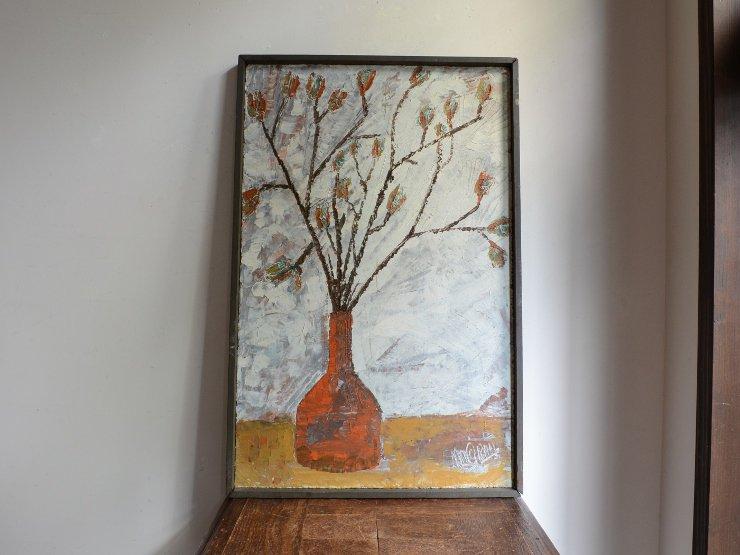 木製フレーム ウォールデコレーション (絵画)