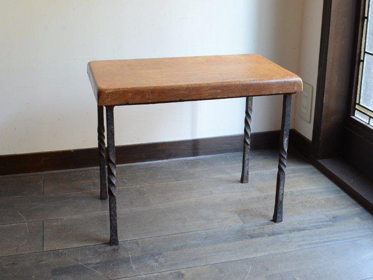 アンティーク 鉄脚テーブル M