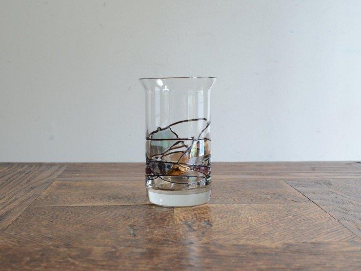 ヴィンテージ 模様入り アペリティフグラス